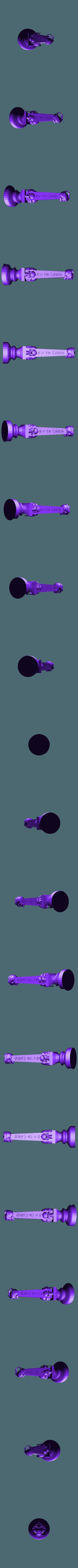 undead rookn2.stl Télécharger fichier STL gratuit Les échecs égyptiens : vivants ou morts • Modèle à imprimer en 3D, MartinHaurane