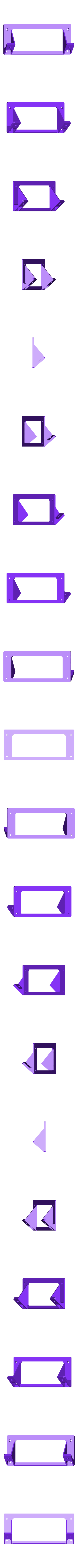 Anet_8_LCD_Back_Plate_50deg.stl Télécharger fichier STL gratuit Boîtier LCD AM8 Anet • Design à imprimer en 3D, Slava_Z