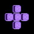 Anet_8_LCD_Buttons.stl Télécharger fichier STL gratuit Boîtier LCD AM8 Anet • Design à imprimer en 3D, Slava_Z
