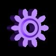 Crank_Gear_10T.stl Télécharger fichier STL gratuit Vapemobile : Voiture jouet pneumatique • Modèle pour imprimante 3D, Slava_Z