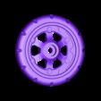 Wheel_Balloon_Rear_L.stl Télécharger fichier STL gratuit Vapemobile : Voiture jouet pneumatique • Modèle pour imprimante 3D, Slava_Z