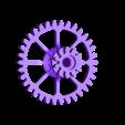 Crank_Gear_34T.stl Télécharger fichier STL gratuit Vapemobile : Voiture jouet pneumatique • Modèle pour imprimante 3D, Slava_Z
