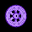 Wheel_Balloon_Front_R.stl Télécharger fichier STL gratuit Vapemobile : Voiture jouet pneumatique • Modèle pour imprimante 3D, Slava_Z