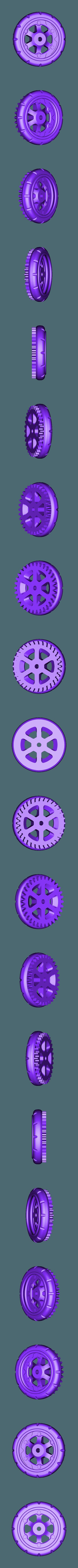 Wheel_Balloon_Rear_R.stl Télécharger fichier STL gratuit Vapemobile : Voiture jouet pneumatique • Modèle pour imprimante 3D, Slava_Z