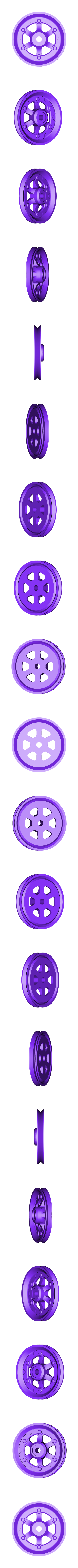 XX_Wheel_Front_R.stl Télécharger fichier STL gratuit Vapemobile : Voiture jouet pneumatique • Modèle pour imprimante 3D, Slava_Z