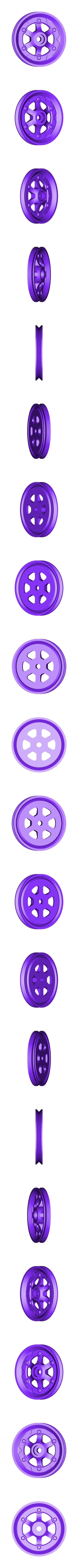 XX_Wheel_Rear_L.stl Télécharger fichier STL gratuit Vapemobile : Voiture jouet pneumatique • Modèle pour imprimante 3D, Slava_Z
