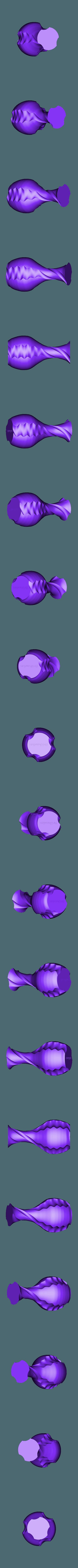 shake and twist vase.stl Download free STL file Shake & twist vase • 3D printable design, Brithawkes