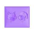 Cat-Dog.stl Download free STL file Cat and Dog • 3D printable template, Account-Closed