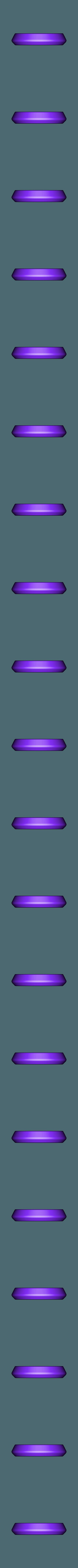 1 Socle.stl Télécharger fichier STL gratuit FanArt d'une Grenade Gaz • Design à imprimer en 3D, cedland
