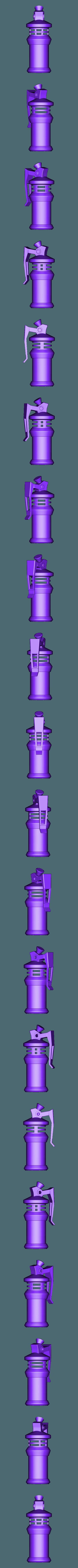 FULL.stl Télécharger fichier STL gratuit FanArt d'une Grenade Gaz • Design à imprimer en 3D, cedland