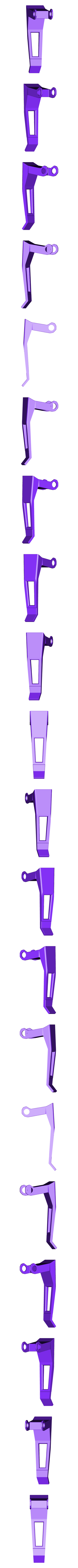 4 Poignée.stl Télécharger fichier STL gratuit FanArt d'une Grenade Gaz • Design à imprimer en 3D, cedland