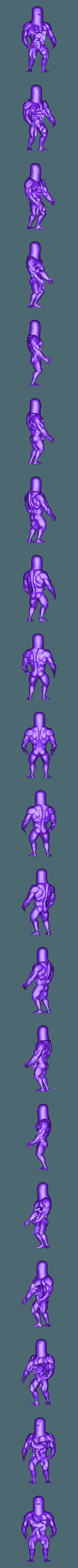 dugtrio medio.stl Download STL file Dugtrio Funny 3D print model • 3D print object, Vstudios