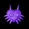 Majoras_mask_woodgrain_high_rez.STL Télécharger fichier STL gratuit zelda majoras mask • Plan pour imprimante 3D, ptithdvideo