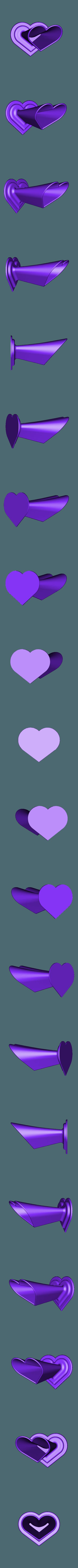 vase-coeur.stl Télécharger fichier STL gratuit Vase Coeur • Objet pour imprimante 3D, rfbat
