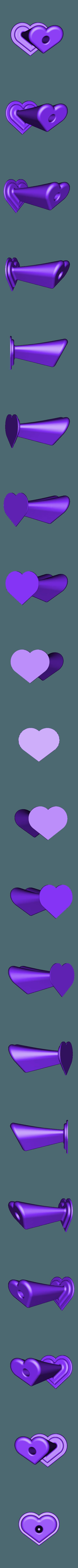 vase-coeur-soliflore.stl Télécharger fichier STL gratuit Vase Coeur • Objet pour imprimante 3D, rfbat