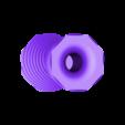 Vase v4_fixed.stl Download free STL file Reversible vase • 3D printer design, IdeaLab