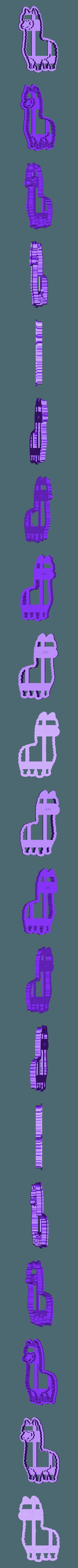 LLAMA 10cm.stl Descargar archivo STL gratis Llama • Diseño para imprimir en 3D, FloR