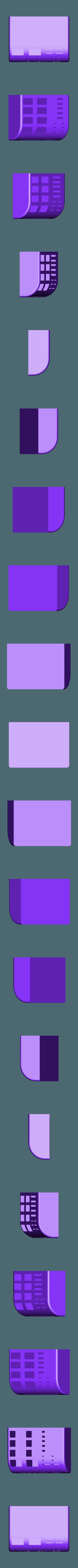 Memory Card Caddy Contoured Short v2FINAL.stl Télécharger fichier STL gratuit SD, MicroSd et clé USB Caddie / Support • Plan pour impression 3D, SierraTech
