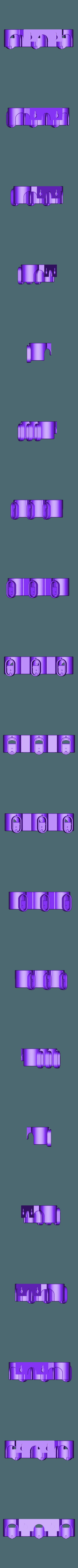 SupportTripleDysonV6.stl Download STL file Triple holder for Dyson V6 accessories • 3D printer design, uhgues