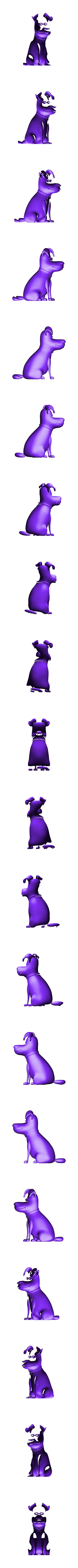 max02.stl Download STL file Secret Life of Pets: Max - Fan Art • 3D printer object, CarlCreates