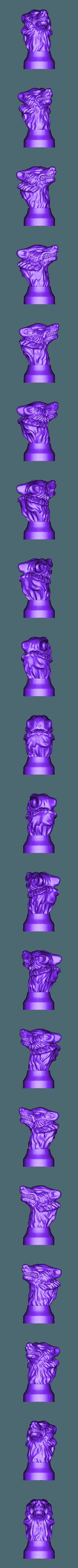 Stark.stl Télécharger fichier STL gratuit Insigne de la maison de pierre de jeu des trônes de trônes • Modèle imprimable en 3D, Or10m4