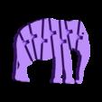 120_elephant.STL Download free STL file Flexi Articulated Elephant • 3D printable model, jtronics