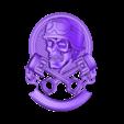 238.stl Télécharger fichier STL gratuit crâne avec pistons moto biker cnc art • Modèle à imprimer en 3D, Terhrinai