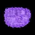 297.stl Télécharger fichier STL gratuit chien lévrier chasse cadre de scène cnc art • Design pour imprimante 3D, Terhrinai