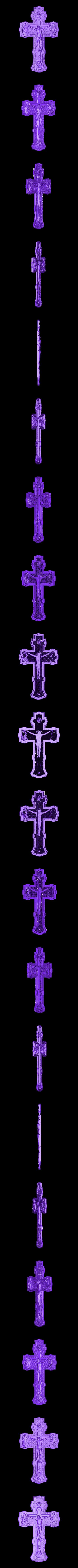 1000144.STL Télécharger fichier STL gratuit Jesus christ croix croix romaine tuant cnc art • Modèle à imprimer en 3D, Terhrinai