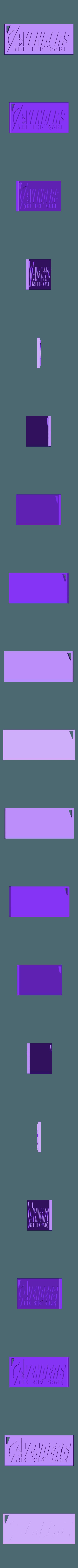 keychainAvengers 2_1.STL Download free STL file KEYCHAIN AVENGERS SYMBOL No.2 (THE END GAME) • 3D printer model, Tum