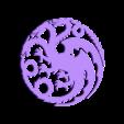 game_of_thrones_dragon.stl Télécharger fichier STL gratuit Jeu du Dragon du Trône (mère des dragons) • Plan à imprimer en 3D, idy26