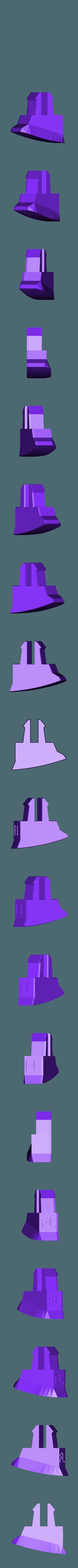 RR_fl.stl Télécharger fichier STL La course à pied Rhino • Modèle à imprimer en 3D, Amao