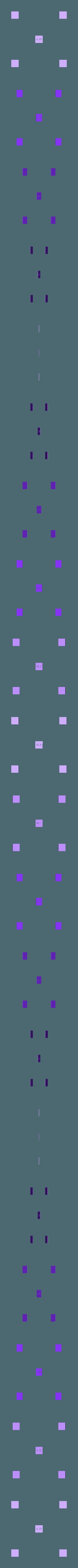 LD - Bed Level and Adhesion Test MK1.STL Télécharger fichier STL gratuit LD Test d'adhérence et de niveau du lit d'impression en 5 points MK1 • Objet à imprimer en 3D, Lobo_Dorado_3D