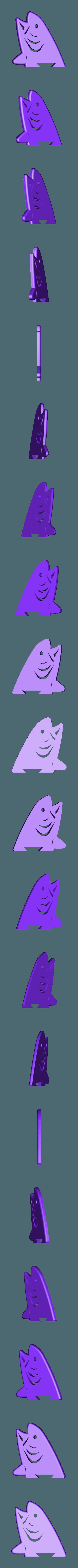 Fish_Headphone_Stand_Organiser_Fish_Left_2.STL Download free STL file Fish Headphone Stand Organiser • 3D printing model, inProgressDesigns