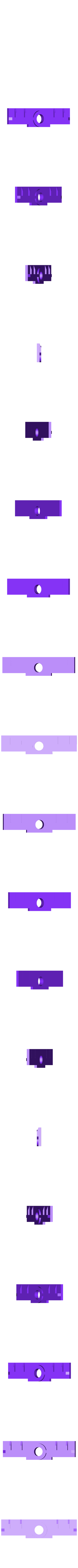 ClampPlate.stl Télécharger fichier STL gratuit Support de caméra de plafond pour plafonds commerciaux de 600 mm • Design imprimable en 3D, PapaBravo