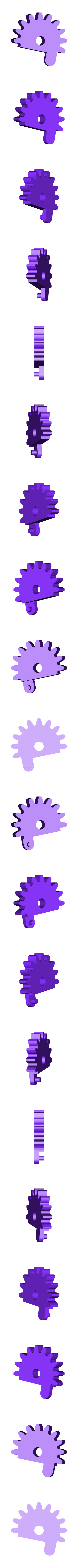 Spur_Gear_R.stl Download free STL file Mechanical Quick Grab/Release Phone Stand • 3D printable object, arron_mollet22