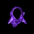 terminado cuernos ctor.stl Download STL file Demon Skull Ring • 3D printer design, Kraken1983