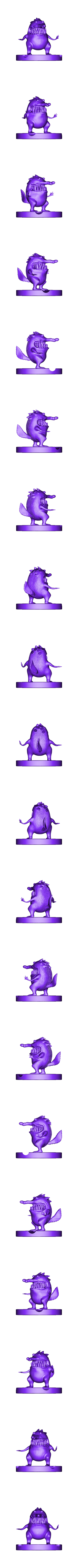 badger_woodpeaker.stl Download free STL file Badger Woodpeaker • Template to 3D print, mefedef
