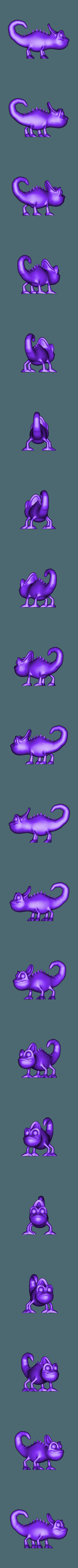 cameleon.obj Download free OBJ file Chameleon • 3D printable design, screw