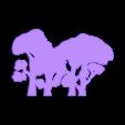 tree wall1.STL Download free STL file Tree Wallpaper. • Template to 3D print, Tum