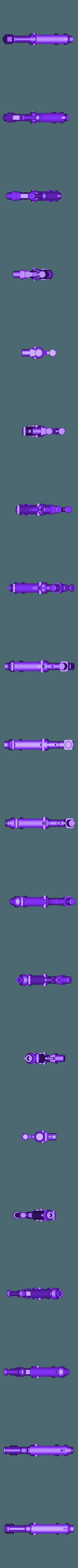 transformers_assault_gun.stl Télécharger fichier STL gratuit Transformateurs Canon d'assaut Power of the Primes • Objet imprimable en 3D, Lance_Greene
