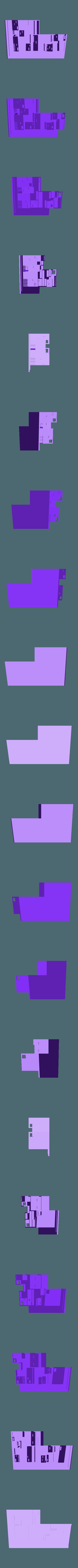 Model_1_200.stl Download free STL file 2 VIVIENDAS ADOSADAS • 3D printer template, chocarrat