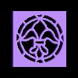 Windue amature 1.stl Download free STL file Stainedglass windows 1:12 • Object to 3D print, drnbabyz