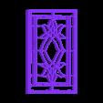 Windue armature 3.stl Download free STL file Stainedglass windows 1:12 • Object to 3D print, drnbabyz