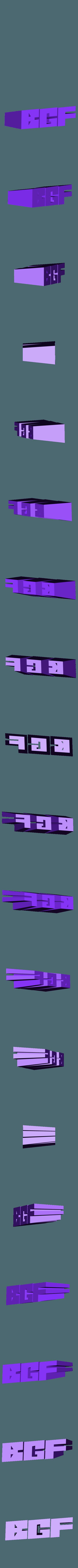 BGF_bordeaux_geek_festival_7.stl Download free STL file BGF trophées - printed by dagoma • 3D printable model, dagomafr