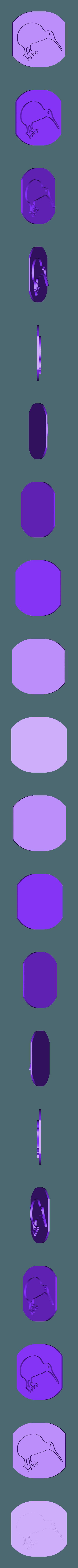 kiwi_toast_2.stl Download free STL file Kiwi Toast! • 3D printing template, Palasestia