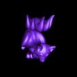 TJG_Kitsune_V1.stl Download free STL file Kitsune - Easy Print, no supports required. New V3!!! • Design to 3D print, ThatJoshGuy