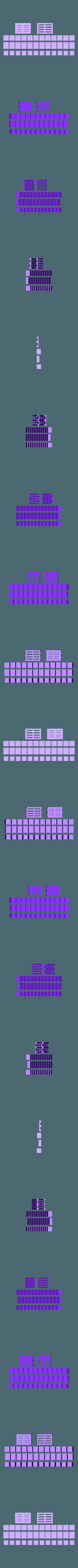 pallet_game.STL Télécharger fichier STL gratuit Supply Chain : Jeu de palette • Design imprimable en 3D, Baldshall