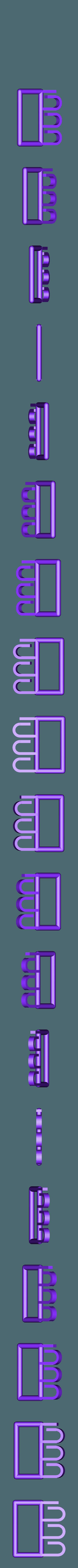 bagcarrier-v1.stl Télécharger fichier STL gratuit Porte-sacs (paramétrique) • Plan pour imprimante 3D, Baldshall