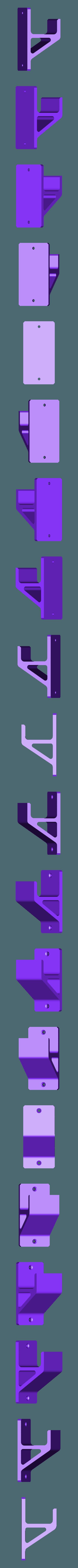 Schraubzwingehalter-mittel.STL Descargar archivo STL gratis Schraubzwingenhalter / Soporte de abrazadera de tornillo • Diseño para imprimir en 3D, Chileo